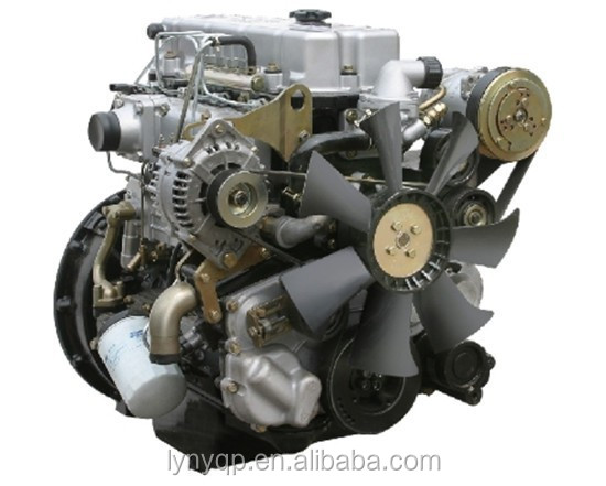 YUNNEI diesel engine assembly and parts for YN490QB JAC truck