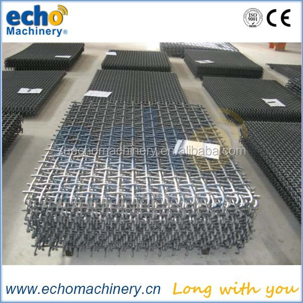 high quality heavy duty reinforcing steel wire mesh for vibrating screen mesh with carbon steel,stainless steel,65Mn