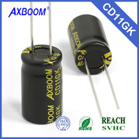 High Quality Aluminum Electrolytic Capacitor 400v 10uf Volume Electronic Component