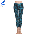 Lotsyle Wholesale Floral Gym Pants Fitness Sport Yoga Leggings for Women