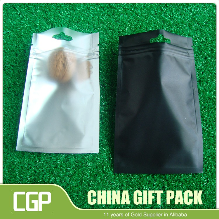 Zip Lock Plastic Clear Packaging Aluminum Foil Bags