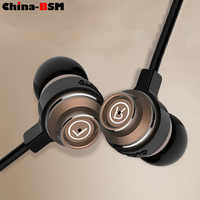 3.5 mm in-ear earphone Mobile Phone Use high quality wired earphone