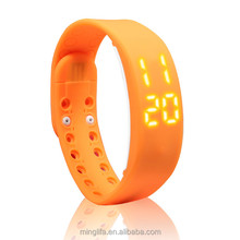 2016 New smart band W2 sport calendar temperature fashion band pk mi band for men and women