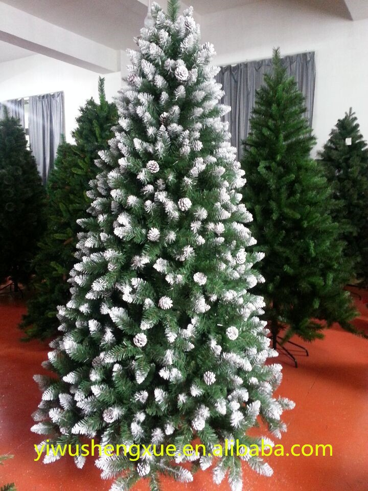Fashion festival decorations artificial snow flocked for Artificial snow decoration