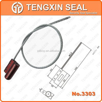 TX-CS303 China Ready sale oil seals for submersible pumps , coated hexagonal steel wire cable seal