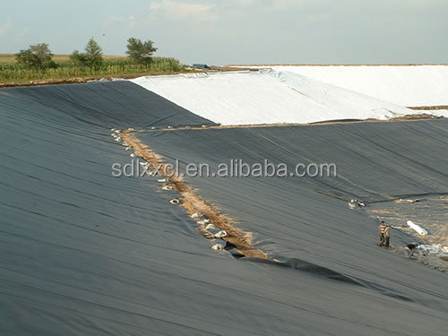 ASTM Standard HDPE LDPE LLDPE PVC EPDM Pond Liner Geomembrane