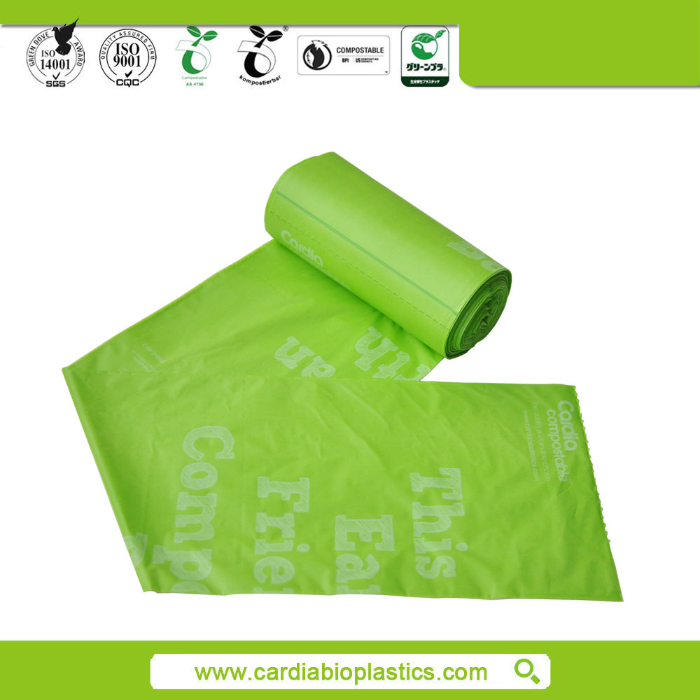 biodegradable plastic garbage bag