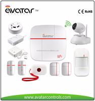 Avatar ASS03F-W3 SmartSafe System Intelligent smart home system internet access wireless house alarm system