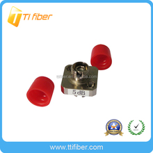 FC singlemode simplex fixed fiber optic attenuator