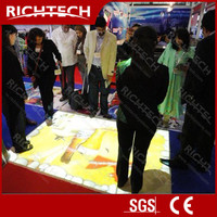 HOT!!! Interactive floor and wall projection with 3d software solution