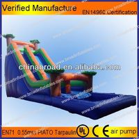 Durable water slide,outdoor plastic water slides for adult and kids