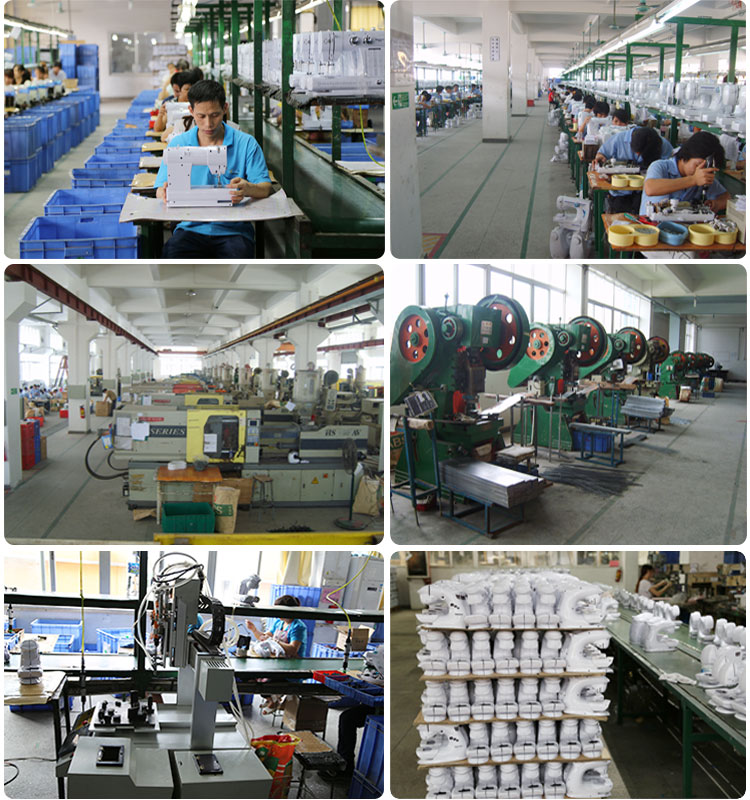 sewing machine production line