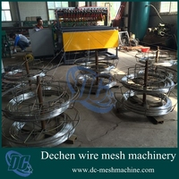 CNC pneumatic galvanized steel wire animal fence cage welding machine for sale(OEM)