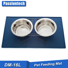 Top Rated fast online selling 60X 40cm Small Large Dogs feeding mat