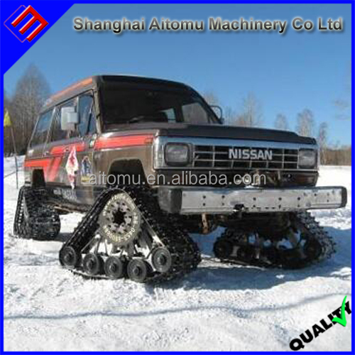 Hot Sale rubber track for snow vehicle with low price