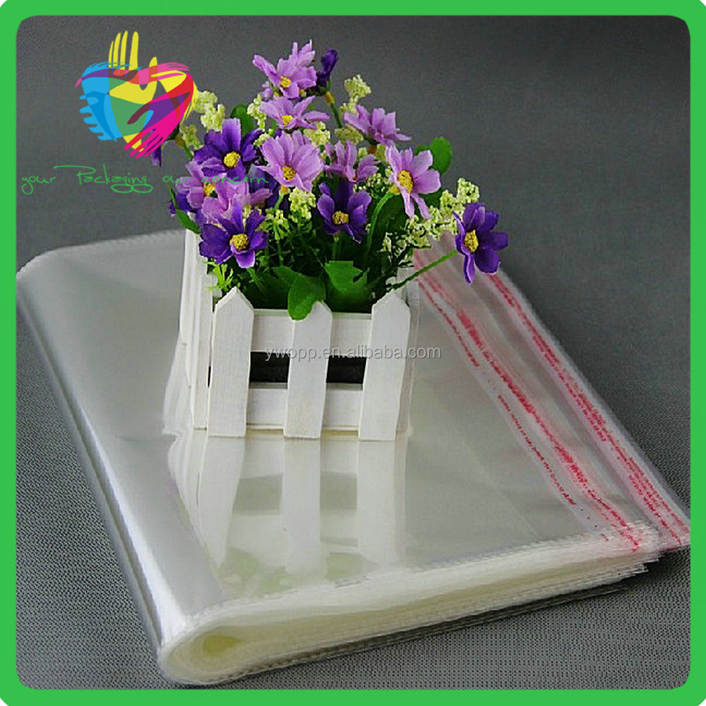 YiWu cheap high quality manufacturer of wholesale self adhesive opp plastic bag