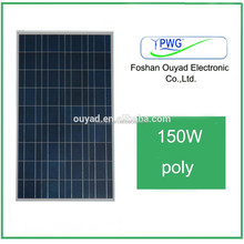 High quality A-grade cell high efficiency 100W 150W 200W 250W 300W Watt solar panel price made in china