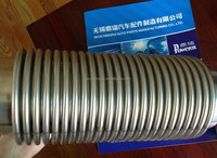 Stainless steel diameter 45mm to 100mm engine exhaust bellow