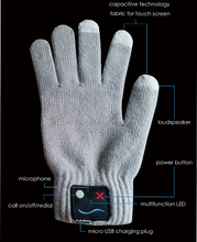 Popular Vibration Bluetooth Talking Gloves