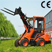 CE certified articulated mini telescopic forklift DY840 for sale, telescopic boom forklift