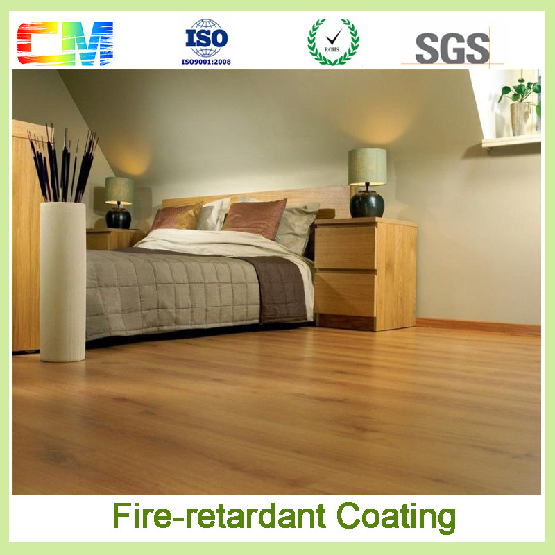 CM paint factorty transparent intumescent flame retardant paint for building furniture wood coating