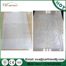 PE material Clear Plastic Car Seat Cover
