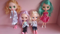Cheap Fashion Blythe dolls girl plastic doll for DIY