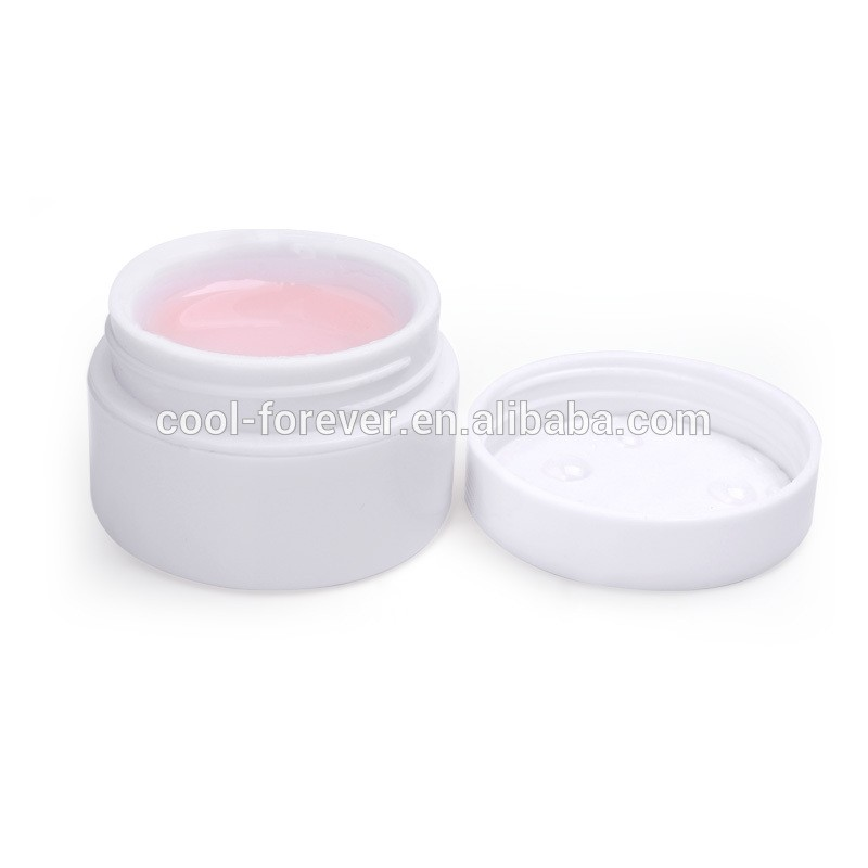Clear White Pink 15g Nail Gel UV Primer Base Top Coat Builder Decor