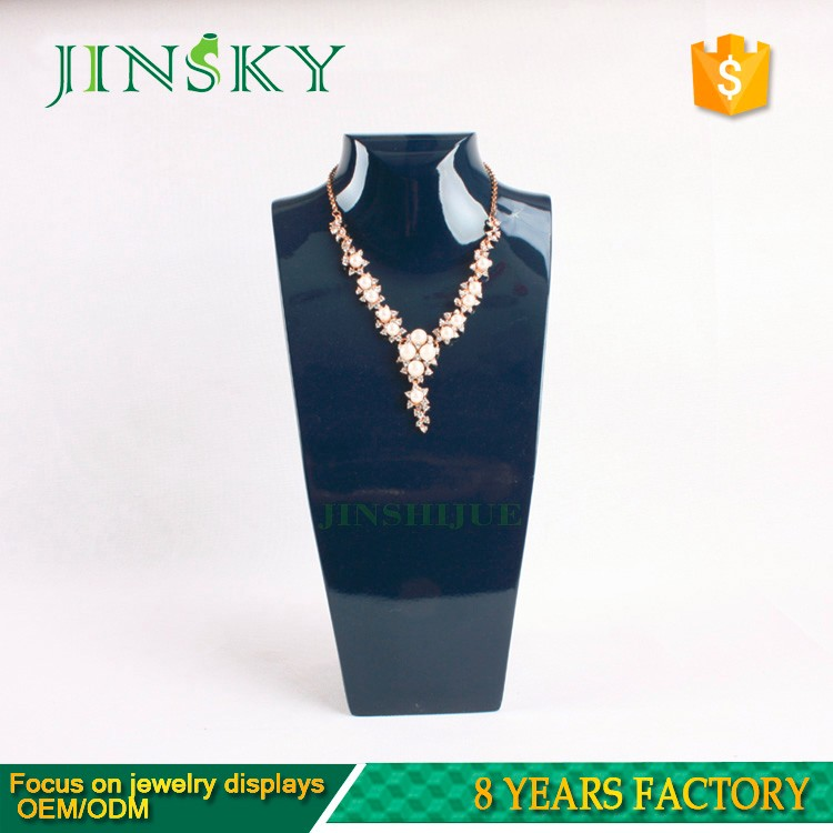 wholesale resin jewelry mannequin bust for jewelry display