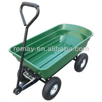 handy garden poly dump cart TC2145