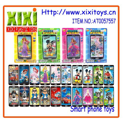12.5Cm hotsale plastic smart touch screen mobile phone toy