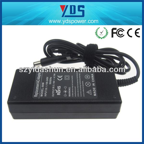 laptop dvd drive adapter,90w19v,CE FCC ROHS ERP approved,china alibaba of 8 years factory