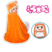 New Kawaii Himouto Umaru-chan Adult Kigurumi Cloak Cosplay Costume Free Size KK817