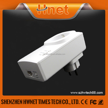 2016 Hnet PLC AV 200M powerline ethernet bridge adaptor Wifi home plug Mini Powerline Adapters with socket