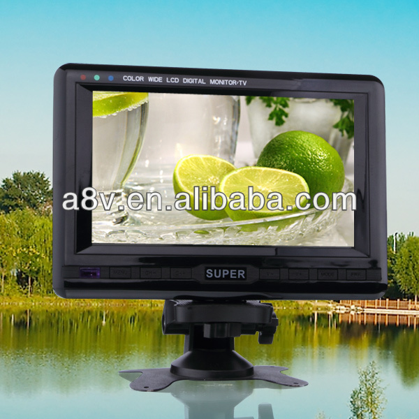 9inch TFT screen Portable 3d tv player with digital panel