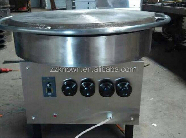Electric or gas flapjack and chapatti bread making machine