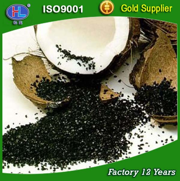 coconut shell materials making activated carbon with machinery