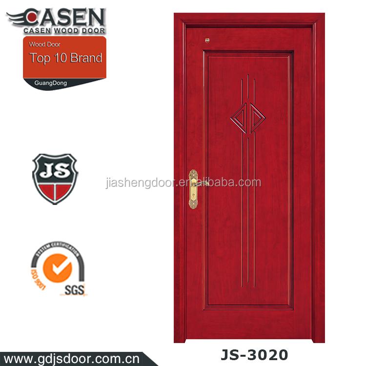 China Classic Plain Solid Wood Doors Internal Doors