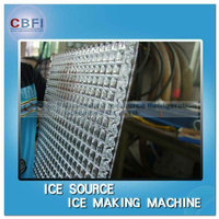 Commercial used ice cube machine for parties and cold drinking with cube ice packing system