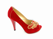 red high heel lady diamond wedding shoes women party shoes