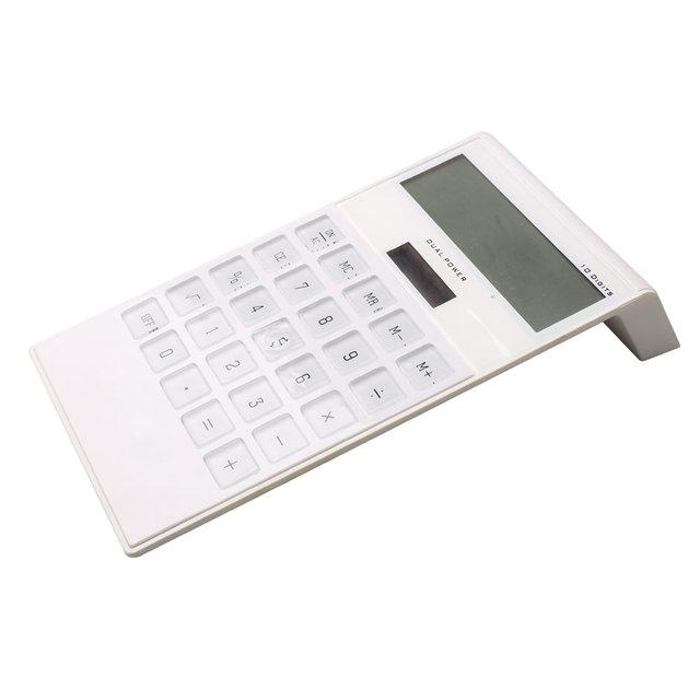 10 Digit Desktop Super Thin Calculator with Dual Power