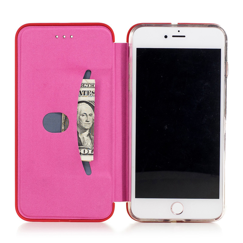 High Quality Real Genuine Leather Magnetic Flip Mobile Phone Case For all type mobile phone