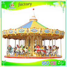 Park Attraction indoor/outdoor park electric musical Amusement carousel decoration for children