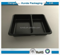 Food use and tray type PET plastic food tray container and box