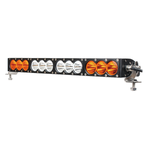 wholesale super slim amber single row flood aluminum waterproof led driving off road grow led strip light bar car for truck