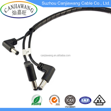 DC Splitter Cable DC Power Cable 3Male to XH Plastic Housing Monitor Wire