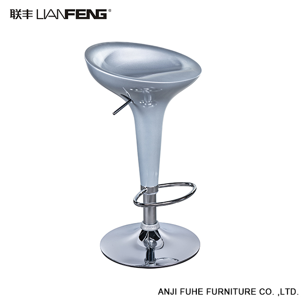 LIANFENG China Cheap Commercial Colorful Plastic Bar Stool