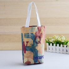 Customized cotton cloth bag shopping canvas bag with pattern