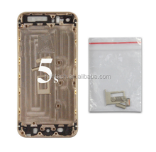 Replacement back cover Housing For iPhone 5 gold