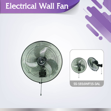 Powerful heavy duty SS-1816WF1S-3AL professional electrical wall mount fan
